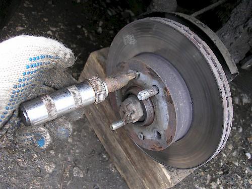 замена тормозных дисков харьков